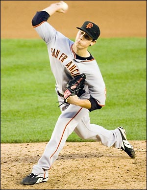 Tim Lincecum, San Francisco Giants.